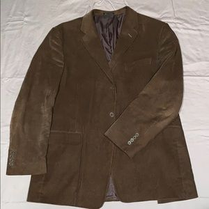 Men's camel corduroy sports coat